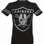 Men's Black Oakland Raiders Logo NFL T-Shirt