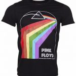 Men's Black Pink Floyd Dark Side Of The Moon 1975 Tour T-Shirt