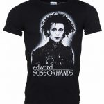 Men's Black and White Edward Scissorhands T-Shirt
