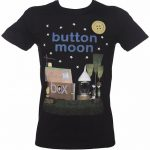 Men's Button Moon Classic T-Shirt