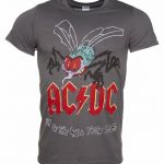 Men's Charcoal AC/DC Fly On The Wall Tour 85 T-Shirt