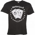 Men's Charcoal Motorhead Ace Of Spades T-Shirt from Amplified