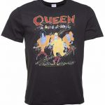 Men's Charcoal Queen A Kind Of Magic T-Shirt from Amplified