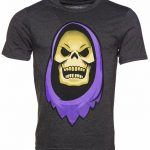 Men's Charcoal Skeletor Masters of The Universe T-Shirt