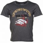 Men's Charcoal Springwood High School Nightmare On Elm Street T-Shirt