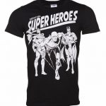 Men's DC Comics Original Superheroes T-Shirt
