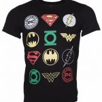 Men's DC Comics Originals Superhero Logos T-Shirt