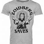 Men's Grey Heather Futurama Zoidberg Saves T-Shirt