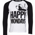 Men's Happy Mondays Baseball T-Shirt