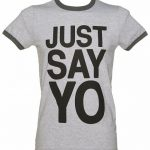 Men's Just Say Yo Ringer T-Shirt