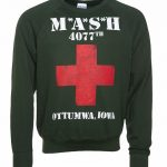Men's M*A*S*H 4077th Logo Lightweight Sweater