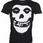 Men's Misfits Skull T-Shirt With Back Print