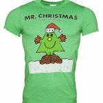 Men's Mr Christmas Mr Men T-Shirt