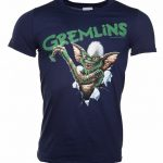 Men's Navy Gremlins Crayon T-Shirt