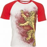 Men's Red Game of Thrones Lannister Raglan T-Shirt