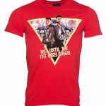 Men's Red Fat Lady Sings Independence Day T-Shirt