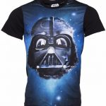 Men's Star Wars Darth Vader In Space Sublimation T-Shirt