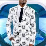 Men's Star Wars Stormtroopers Suit With Tie from OppoSuits
