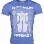 Men's Transformers Optimus Prime Blueprint T-Shirt