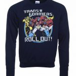 Men's Transformers Roll Out Sweater