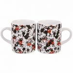 Mickey Mouse Disney Set Of 2 Mini Mugs