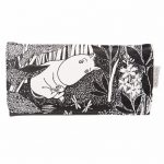 Monochrome Moomins Purse