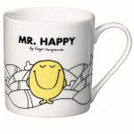 Mr Happy Mr Men Boxed Mug