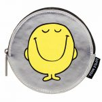 Mr Happy Silver Coin Purse