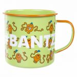 Mr Tickle Bantz Enamel Mr Men Mug