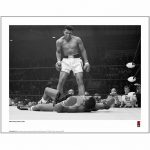 Muhammad Ali First Minute, First Round Photographic 14 x 11″ Art Print""