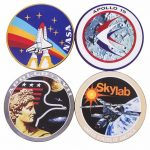 NASA Set Of 4 Coasters
