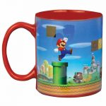 Nintendo Super Mario Brothers Heat Change Mug