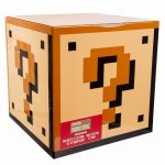 Nintendo Super Mario Brothers Question Block Storage Tin