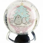 Pusheen Christmas Light Up Globe