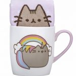 Pusheen Unicorn Socks And Mug Gift Set
