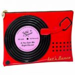 Record Player Cosmetic Pouch from Tatty Devine