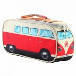 Red VW Campervan Lunch Bag Cooler
