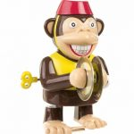 Retro Wind Up Monkey