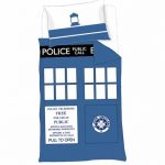 Doctor Who Timelord TARDIS Single Duvet Cover Set