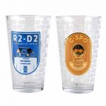 Star Wars R2-D2 And C-3PO Boxed Set Of 2 Large Glasses