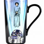 Star Wars R2-D2 Princess Leia Heat Changing Latte Mug