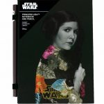 Star Wars Retro Princess Leia Notebook With Pencil