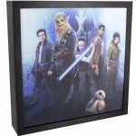 Star Wars Episode VIII The Last Jedi 3D Lenticular Luminart