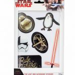 Star Wars Episode VIII The Last Jedi Accessory Stickers