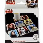 Star Wars Episode VIII The Last Jedi Set Of 8 Card Coasters