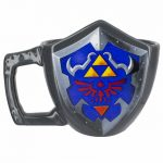 The Legend Of Zelda 3D Shield Mug