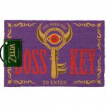 The Legend Of Zelda Boss Key Door Mat