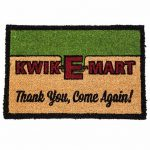 The Simpsons Kwik E Mart Door Mat