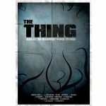 The Thing Movie 11.7 x 16.5 Art Print