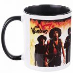 The Warriors Movie Poster Black Handle Mug